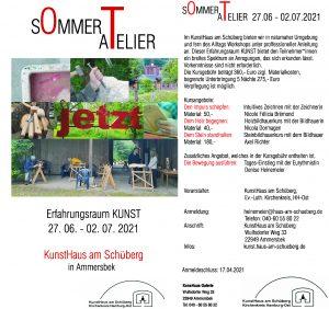 SommerAtelier 2021 im KunstHaus am Schüberg