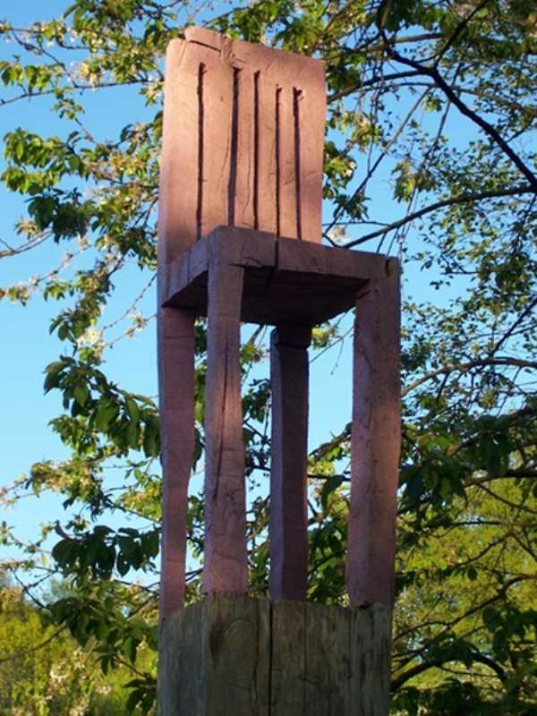 k c131 3 austellungen garten georg janthur leehrstuhl stelen haus am sch berg. Black Bedroom Furniture Sets. Home Design Ideas